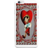 ❀◕‿◕❀ PINOCCHIO NO I DONT HAVE A WOODEN HEART IPHONE CASE ❀◕‿◕❀ iPhone Case/Skin