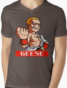 Geese Howard Mens V-Neck T-Shirt
