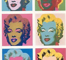 Marilyn Monroe by Andy Warhol by kalikristine