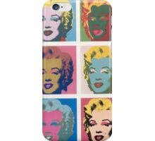 Marilyn Monroe by Andy Warhol iPhone Case/Skin