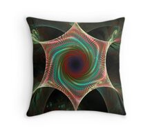 Spin Maker Throw Pillow