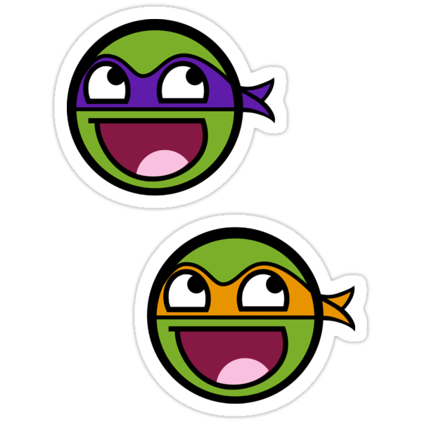Cowabunga Buddy Squad: Donnie + Mikey - Sticker by Cowabunga