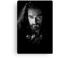 Richard Armitage as Thorin Oakenshield Canvas Print