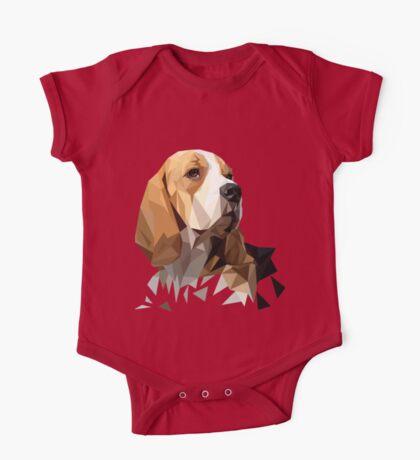 Beagle Hunting Dog Head One Piece - Short Sleeve