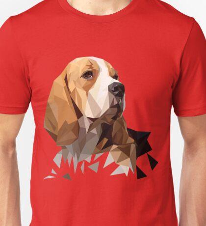Beagle Hunting Dog Head Unisex T-Shirt
