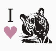 I Love Tigers by jkartlife