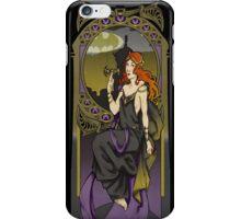 Batgirl ArtNerdveau iPhone Case/Skin