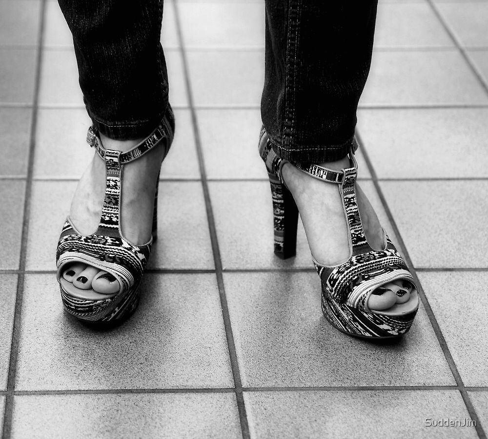 Not In These Shoes I Won't by SuddenJim