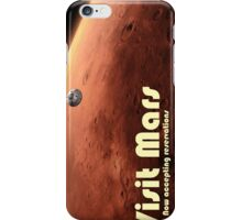 Mars Travel Poster - Now Accepting Reservations iPhone Case/Skin