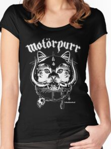 Motorpurr Women's Fitted Scoop T-Shirt