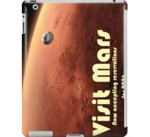 Mars Travel Poster - Now Accepting Reservations iPad Case/Skin