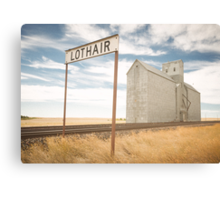 Lothair, Montana Canvas Print