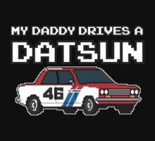 Datsun 510 8Bit - Daddy Kids Tee