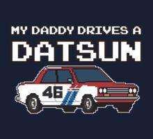 Datsun 510 8Bit - Daddy One Piece - Long Sleeve