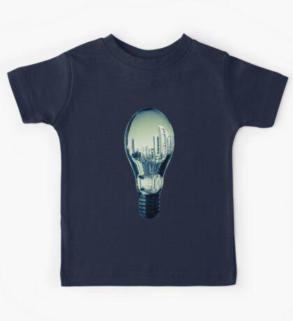 lightbulb city Kids Tee