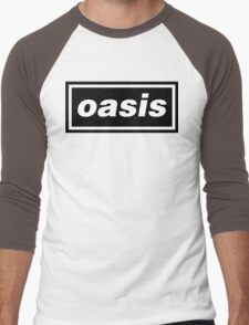 Oasis Logo Men's Baseball ¾ T-Shirt