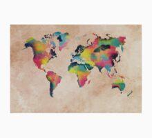 world map 2 Kids Tee