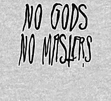 No Gods, No Masters Mens V-Neck T-Shirt