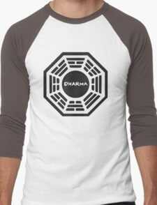 LOST: Dharma Logo Men's Baseball ¾ T-Shirt