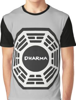 LOST: Dharma Logo Graphic T-Shirt