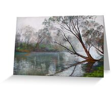 Winter on the Goulburn Greeting Card