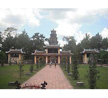 Vietnamese Temple  Photographic Print