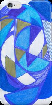 Blue Circles by kalikristine