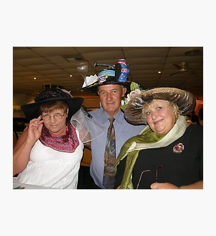 Cup day dress up winners Photographic Print