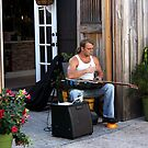 Striking a Cord ~ a Street Musician by SummerJade