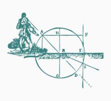Descartes Diagram Kids Tee