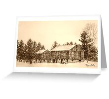 Country Livin' Greeting Card