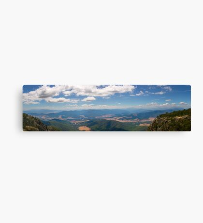 Vista of the Ovens Canvas Print