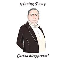 Carson Disapproves!  Photographic Print