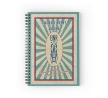 Galaxy News radio | GNR | no matter how bad it hurts Spiral Notebook