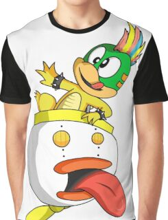 Lemmy Koopa Graphic T-Shirt