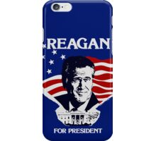 Reagan For President iPhone Case/Skin