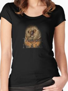 Trust in the Ewok Women's Fitted Scoop T-Shirt
