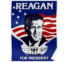 Reagan For President Poster