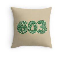 603_NH Throw Pillow