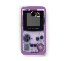 Gameboy Purple Samsung Galaxy Case/Skin