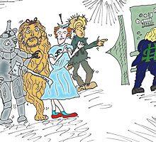 Forex wizard of Oz cartoon by Binary-Options