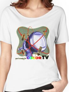 R U ready for Color TV? Women's Relaxed Fit T-Shirt