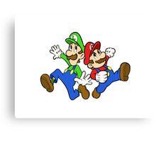 New Super Mario Bros RPG  Canvas Print