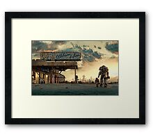 Fallout 4 - The Wanderer Framed Print