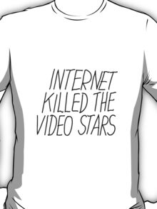 Justice DANCE Internet Kill The Video Star T-Shirt