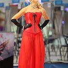 girl in a red dress by mrivserg