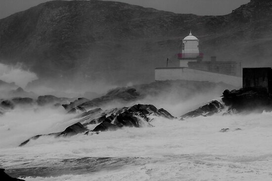Valentia Lighthouse, Cromwell Point, Valentia Island, Co Kerry by AlanJLanders