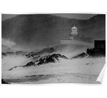 Valentia Lighthouse, Cromwell Point, Valentia Island, Co Kerry Poster