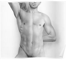 Male nude 9 Poster