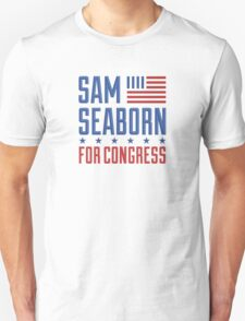 Sam Seaborn For Congress Unisex T-Shirt